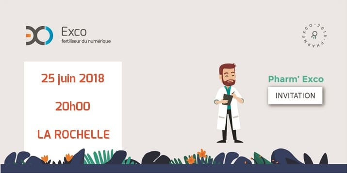 Pharm'Exco 2018 – Bordeaux – 23 Avril 2018 🗓