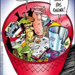 Chaque déchet dans sa poubelle