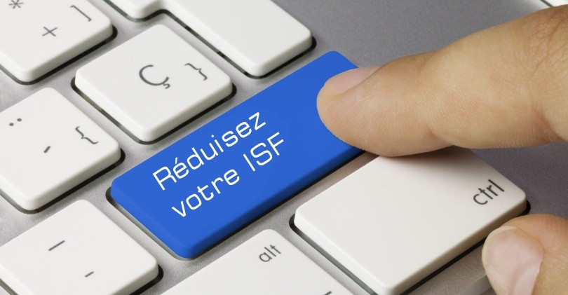 Réduction de l'ISF