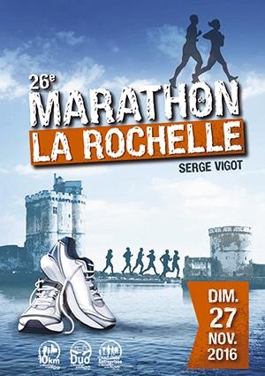 Marathon de La Rochelle – Novembre 2016