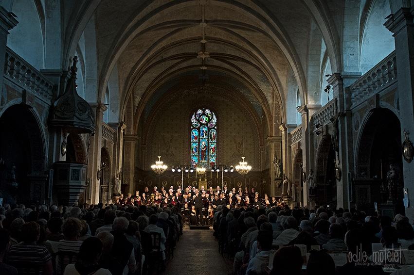 Concert dans église