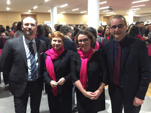 marie cueff david decours laurence parisot jean luc algay exco valliance