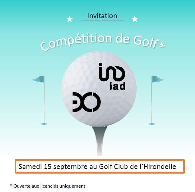compétition golf angouleme exco valliance expert comptable iad france