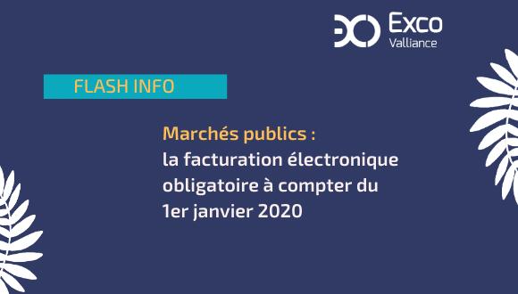 Marchés publics : la facturation électronique obligatoire à compter du 1er janvier