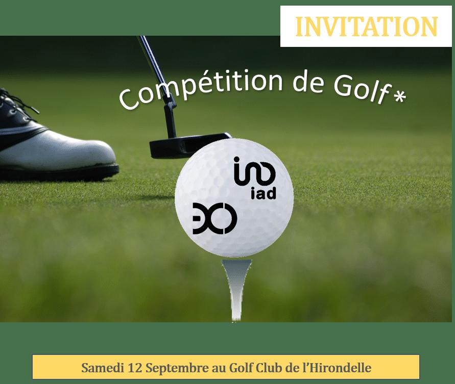 Compétition de Golf Exco & IAD 🗓